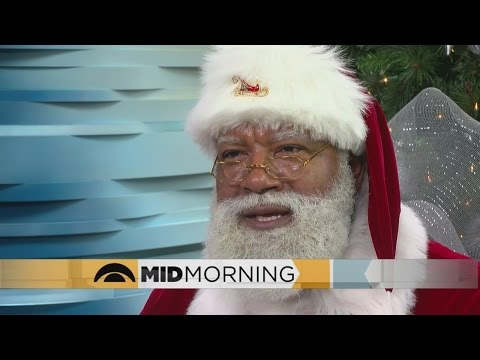 Mall Of America Has First Ever Black Santa Claus
