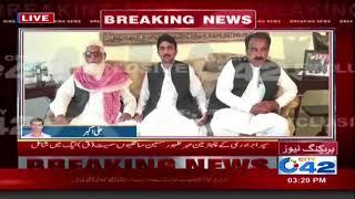 مسلم لیگ ق کے رہنما چودھری پرویز الٰہی سے سپرا برادری کے رہنماوں کی ملاقات