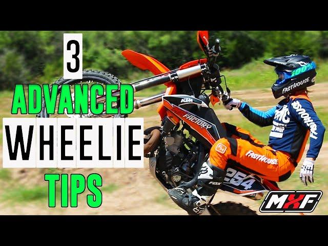 3 Advanced Wheelie Tips to Impress Your Riding Buddies!!