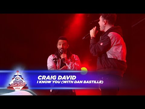 Craig David  'I Know You' FT Dan Bastille   At Capital's Jingle Bell Ball 2017
