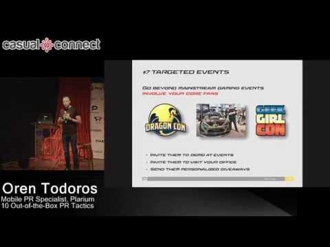 10 Out-of-the-Box PR Tactics | Oren Todoros