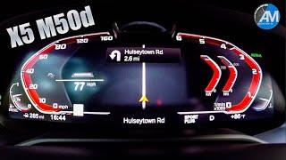 2019 BMW X5 M50d - 0-100 km/h acceleration!
