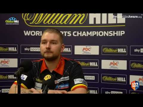 "Dimitri van den Bergh on Wattimena win: ""I've not lost a set yet and I'm not planning to lose one"""