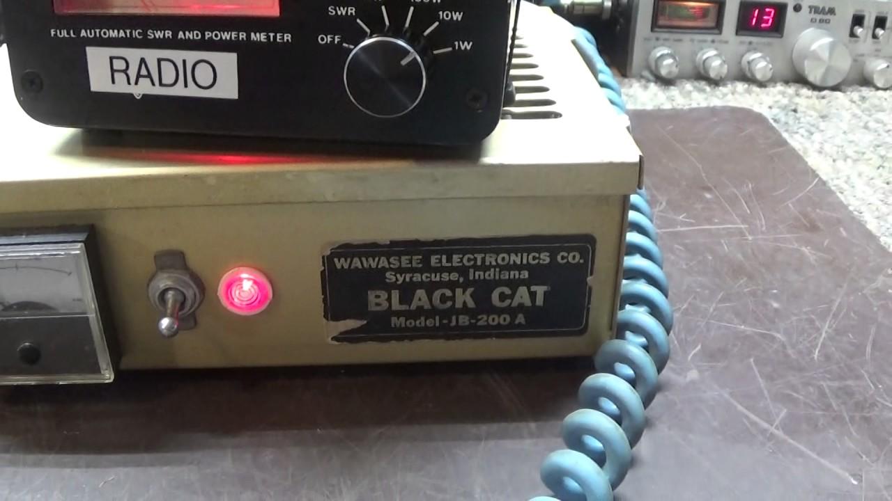 Black Cat JB-200 Aka JB-76B 10 Meter 2 Tube Driver Linear