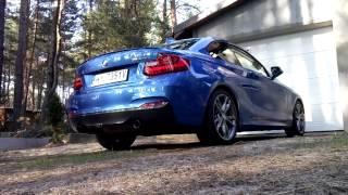 BMW M235i exhaust u0026 engine sound
