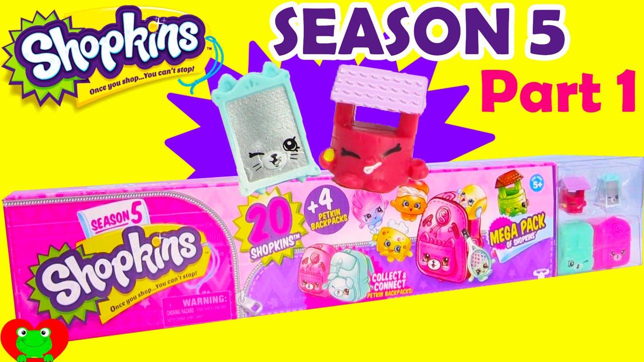 Shopkins SEASON 5 MEGA Pack Part 1 Of 3 Toy Genie
