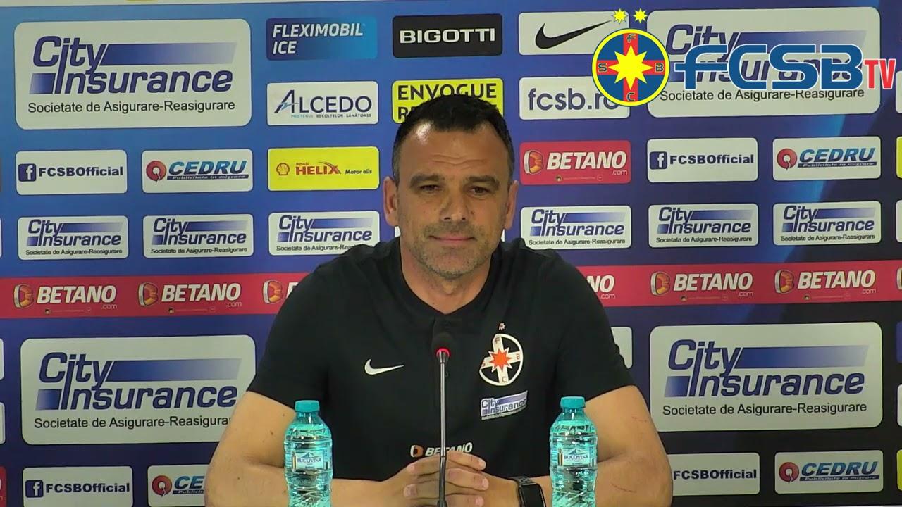 Anton Petrea înainte de FCSB-CFR Cluj!