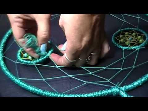 Como hacer un atrapasue os atrapado diy dreamcatcher - Donde colocar un atrapasuenos ...