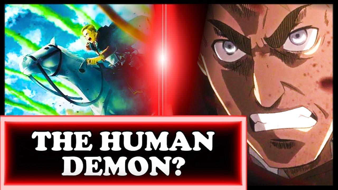 The Heartbreaking Truth About Erwin Smith Attack On Titan Shingeki No Kyojin Erwin Life Death Youtube
