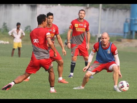 Atletico de Kolkata's First Practice at Central Park । Ahead of Big Kerala Blasters Match