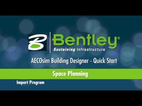 AECOsim Building Designer   A08   Space Planning