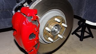 How to Paint Brake Calipers red