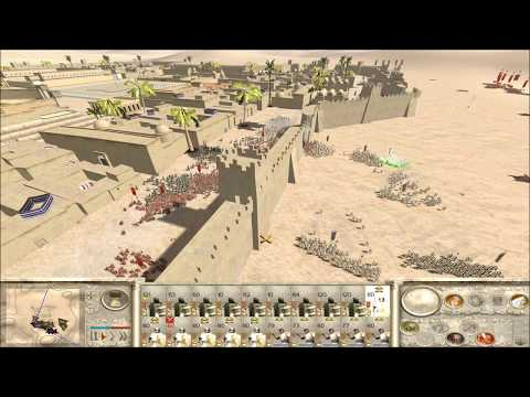 """Epic Jewish-Roman Siege"" Rome Total War Online Battle #2394"