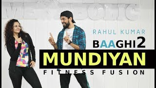 Baaghi 2 - Mundiyan Bollywood Dance Workout | Mundiyan Zumba | Mundiyan Dance Choreography