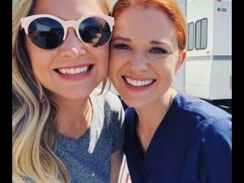 Grey's Anatomy SEASON 14 2018 Funny moments Jessica Capshaw Camilla Luddington Ellen Pompeo