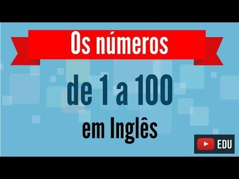 Como falar os numeros de 1 a 100 em Ingles - Inglês Minuto - Aulas grátis de Inglês online