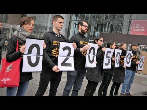 Paris - compteur humain - 500 morts par seconde