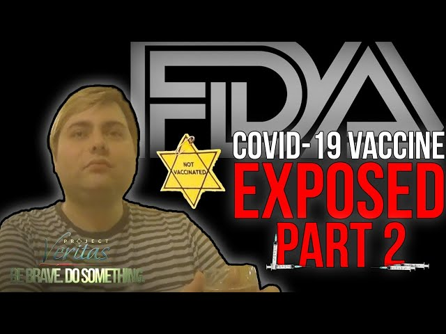 PART 2: FDA Official 'Blow Dart African Americans' & Wants 'Nazi Germany Registry' for Unvaccinated
