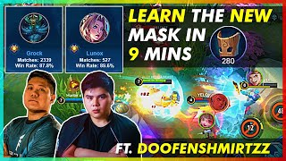 LEARN TO MASK WITHIN 9 MINUTES! 122 IS BACK! PLAYING WITH DOOFENSHMIRTZZ
