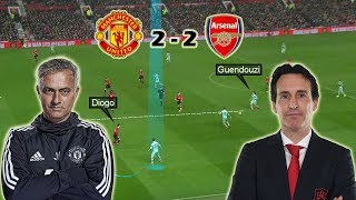 A Hard Fought Point for Both Teams | Manchester United vs Arsenal 2-2 | Tactical Analysis
