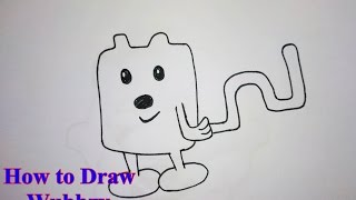 How to Draw Wubbzy Step by Step
