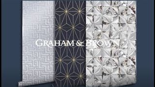 Graham and Brown Wallpaper Geo Heaven