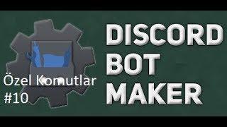 Basit Otorol - Açıp Kapamalı Komutu | Discord Bot Maker Özel Komutlar Komutları #10