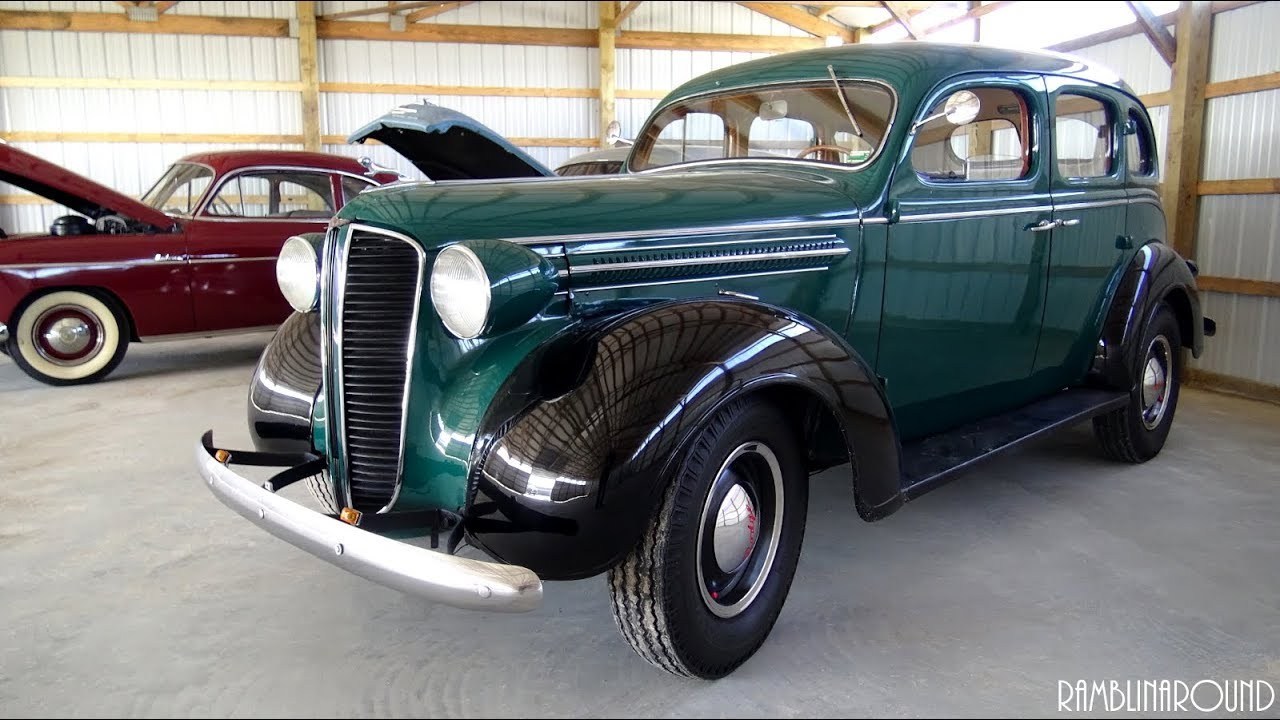 1937 Dodge D5 Sedan From Country