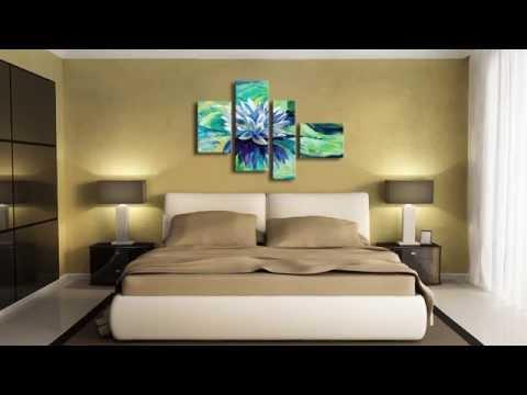 Современные модульные картины в интерьере дома, квартиры, офиса