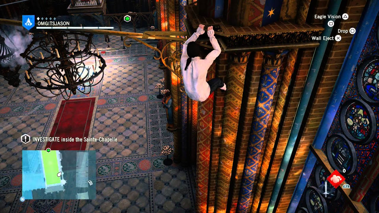 sainte chapelle assassins creed unity map