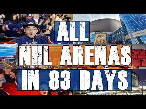 ALL 30 NHL ARENAS IN 83 DAYS