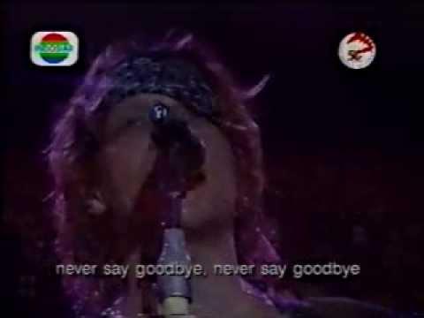 Bon Jovi - Never Say Goodbye (Jakarta 1995)