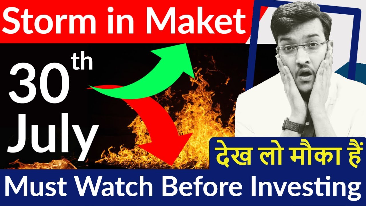 30th July Storm in Share Market ! The Coming of Most Destructive Week of 2020 ! MUST WATCH 🔥🔥🔥