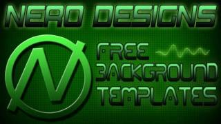 Nero Designs - Free Youtube Background Templates