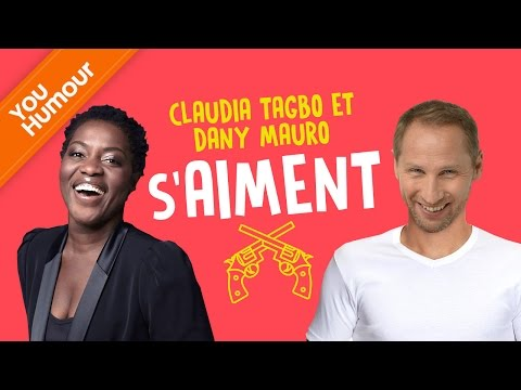 Claudia Tagbo & Dany Mauro s'aiment, s'aiment, s'aiment...