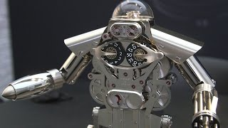 For the Exec Who Has Everything: A $35,000 'Robo-Clock'