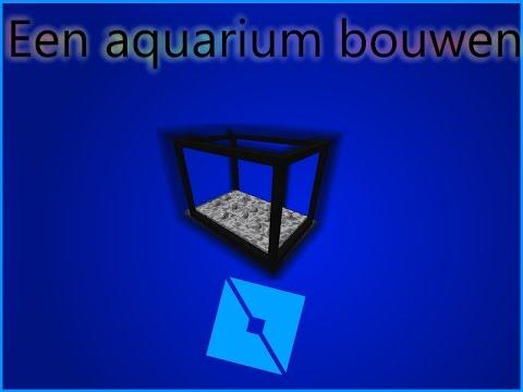Roblox - Een aquarium in studio bouwen timelapse