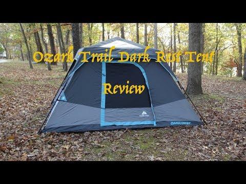 Ozark Trail, 6P, Dark Rest Tent Demo/Review
