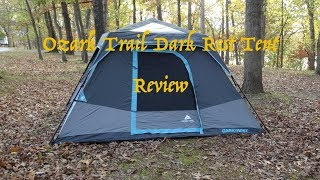 Ozark Trail, 6P, Dark Rest Tent Demo/Review