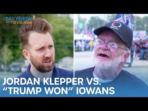 Jordan Klepper vs. Iowans Who Think Trump Won | The Daily Show