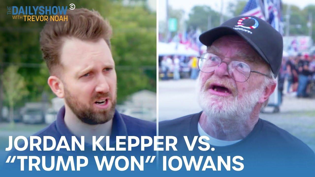 Download Jordan Klepper vs. Iowans Who Think Trump Won | The Daily Show