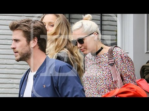 EXCLUSIVE: Miley Cyrus and Liam Hemsworth Out On Date Together: See the Pics!