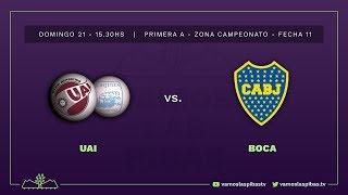 UAI Urquiza 1 - 1 Boca Juniors | #VamosLasPibas | Fútbol femenino