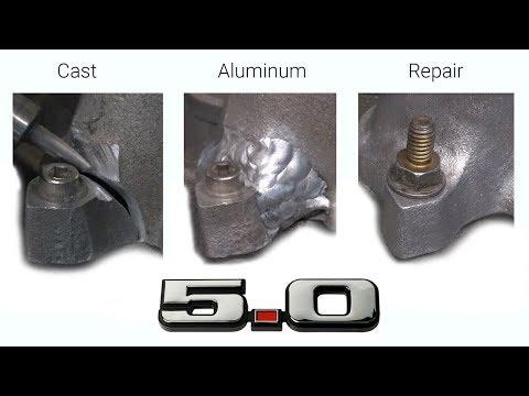 Weld Repair - Cast Aluminum Mustang Intake