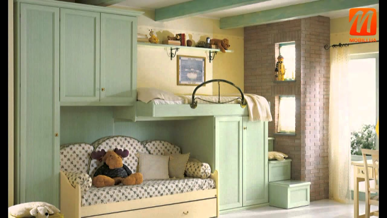 Детские комнаты интерьер для двоих детей, детская мебель ...
