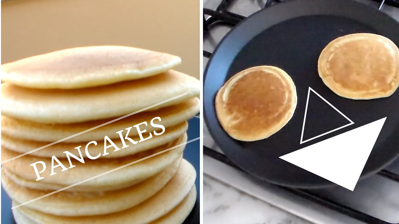 Ricetta Pancake Di Benedetta.Ricetta Perfetta Pancakes Americani Senza Latte Youtube