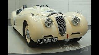 Jaguar XK120 Le Mans Roadster 1951 -VIDEO- www.ERclassics.com