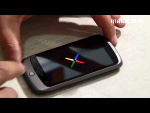 Nexus One de Google: Unboxing