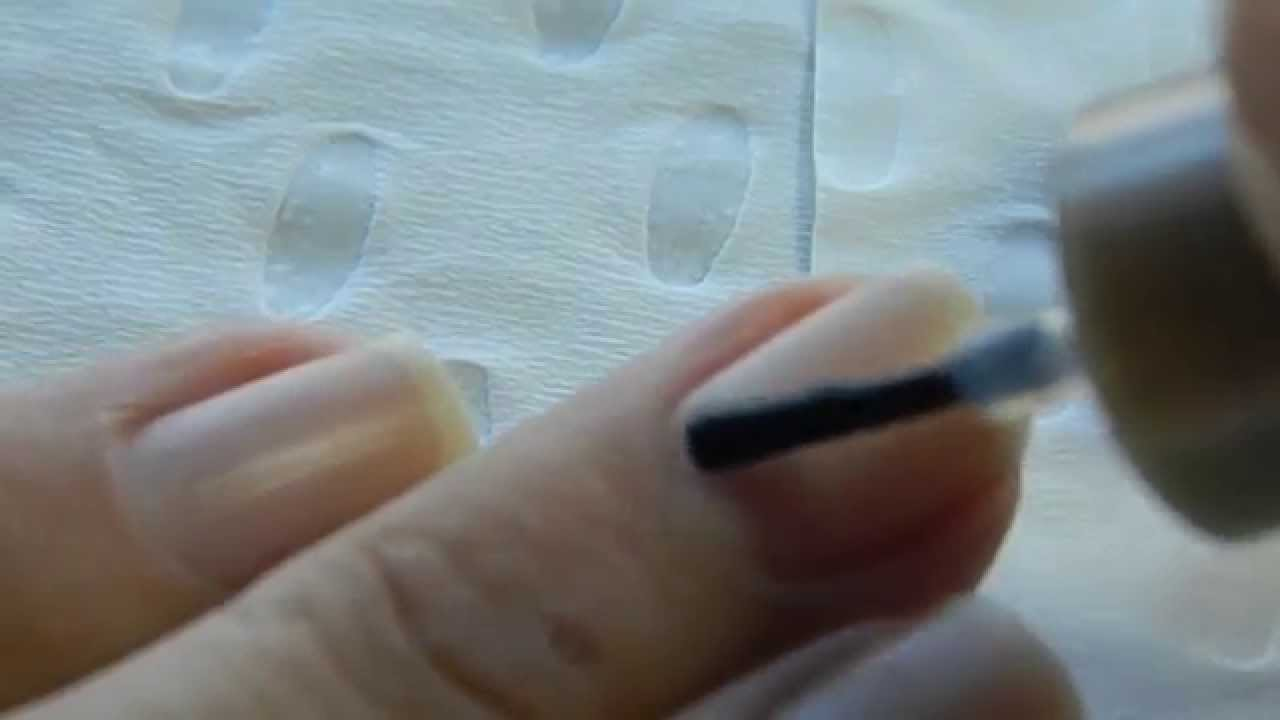 How To Use Cuticle Remover - YouTube