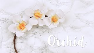 sizzix lifestlye floral series how to create your own paper orchid